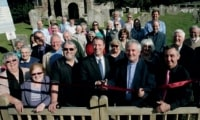 Fawley Church Takes A Fence