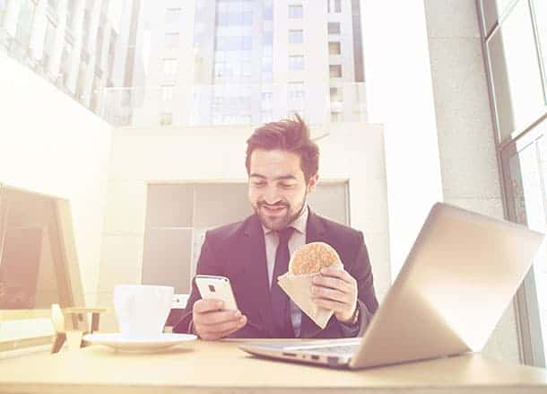 One in three Brits eats the same lunch every day