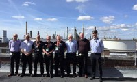 Fire chiefs visit Fawley