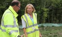 Work starts on new cemetery in Calshot