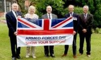 New Forest District Council is supporting Armed Forces Day by flying the flag to honour the Armed Forces community