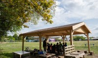 Shelter will allow outdoor learning in all weathers